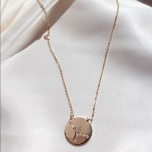 Cancer Zodiac Constellation Sign Pendant Necklace